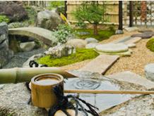 柄杓と庭/滋賀県 造園
