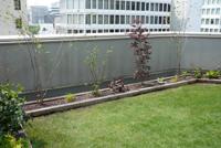 屋上緑化で最も効果が見られるのは熱的効果です。/造園 日本庭園 滋賀県