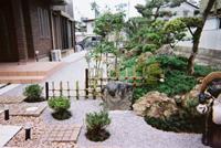 和風庭園に変身/造園 日本庭園 滋賀県