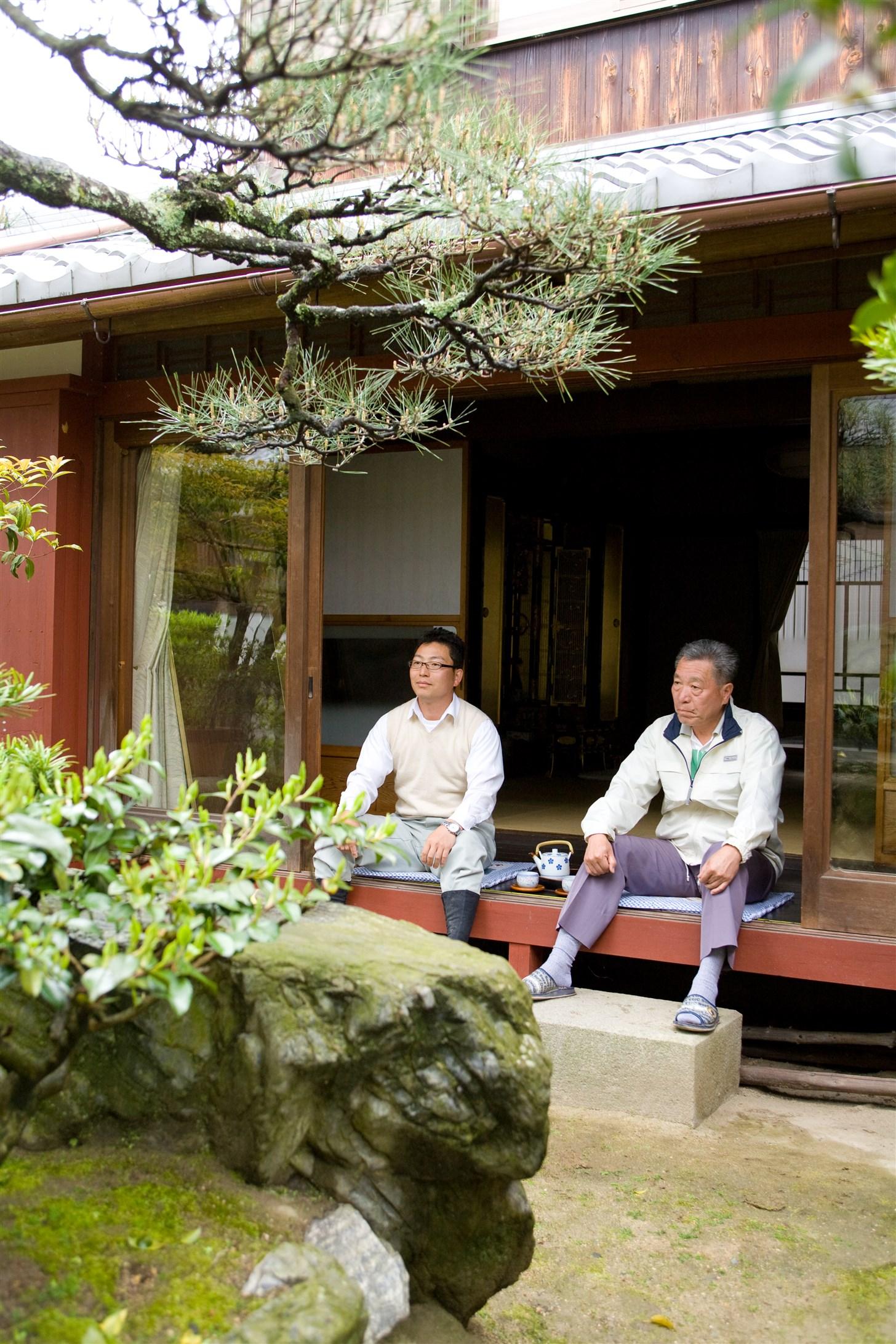 庭卯代表 谷川 文康/造園 日本庭園 滋賀県