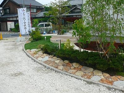 和洋折衷の庭/造園 日本庭園 滋賀県
